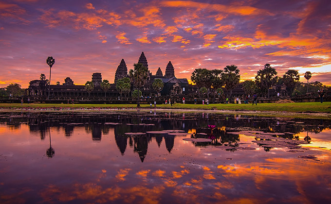 Angkor Wat Temple Wonderful Place